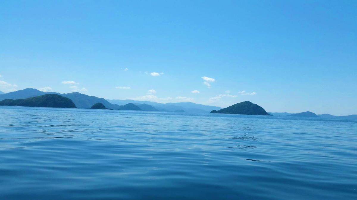 遊漁船海道丸 海の風景